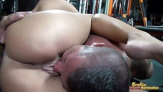 Erotic hot with two big tits - duration 8:55