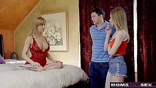 Busty three milf moms so horny they cant let go without - duration 12:41