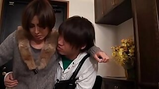 Japanese Mom Fucks Her Young Son! - duration 21:44