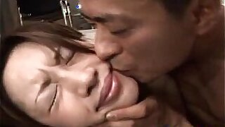 Asian stripteases hairy pussy and gets drilled - duration 10:26