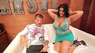 Hot Angelina Castro uses her huge booty to fuck her - duration 12:49